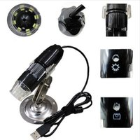 Wholesale ZONEWAY Endoscope Magnifier Camera MP With LED X USB Digital Microscope