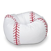 Wholesale Beans For Chair - New Baseball Bean Bag Chair for Kids in Classic Design