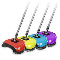 Wholesale Broom Handles - Hand Push Sweeping Machine Magic Broom Dustpan Handle Household Cleaning Package Hand-Propelled Sweeper Vacuum Floor Cleaner