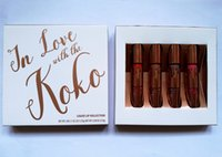 Wholesale Wine Kits Wholesale - HOT NEW Kylie Cosmetics Koko Kollection Limited Edition Lip Kit DHL Free shipping+GIFT