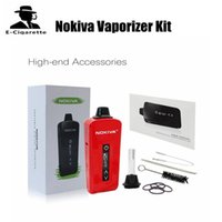 Wholesale Battery Li Polymer - 100% Original AirisVape Nokiva Herbal Vaporizer Kit For Dry Herb 200mAh Li-polymer Battery Black White Red Pink Colors 2253005