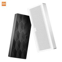 mini mp3 mini venda por atacado-Atacado-Original Xiaomi Mi Bluetooth caixa de alto-falante portátil Wirelee Subwoofer de alta fidelidade caixa de som quadrado para Smartphone PC mesa de computador