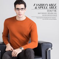 Men cashmere jumpers for men - High Grade Men Sweater New Cashmere Pullovers Winter Warm Jumper O neck Noble Fashion clothes Standard Tops for Male