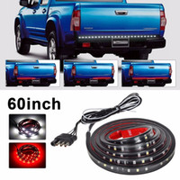 Wholesale Led Tail Light Nissan - Waterproof 60 inch Red white LED Strip Light Bar Truck Reverse Brake Turn Signal Tail for Ford GMC Chevy Dodge Toyota Nissan(Pack of 2)