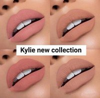Wholesale Sexy Hot Painting - New kylie vacation edition Liquid Lipstick Hot Sale Sexy 4 Colors Lip Paint Matte Lipstick Waterproof Long Lasting Lip Gloss Makeup Cosmetic