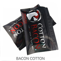 Wholesale High Quality Electronics - stock high quality Cotton Bacon rda 2.0 cotton For RDA RBA Atomizer e cig DIY Electronic Cigarette Heat Wire Organic cotton