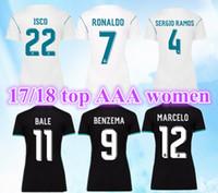 ef0c49627 Soccer Women Short Women Real Madrid Soccer Jerseys Sergio Ramos Cristiano Ronaldo  Kroos Benzema Bale Modric