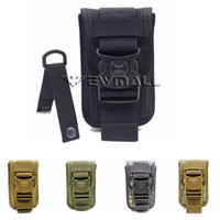 Wholesale Hand Phone Wallet - Molle Tactical Waist Pack Shockproof Double Phone Pouch Wallet Card Hand Bag Hunting Pack