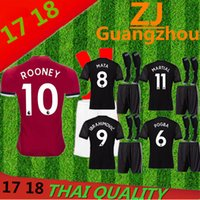 Wholesale Winter Socks Men S - 2108 Manchesteres United jersey kits + socks 17 18 UnITED Europa League Ibrahimovic POGBA ROONEY The BEST quality