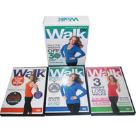 Wholesale Body Building Dvd - Hot Jessica Smith Walk On Walk the Weight Body Building Exercise Fitness 3DVDs Fitness Supplies Videos Workout DVDs Slimming Training Sports