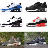 Hot Sale Air Cushion 90 sapatos de corrida Men Air 90 de alta qualidade New Sneakers Cheap Sports Shoe Size 36-45