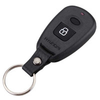 Wholesale blank key shell for sale - Group buy Guaranteed Buttons Remote Case Fob Housing Replacement Key Shell Blank With Battery Place Position For Hyundai Elantra