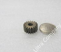 Wholesale Pinion Spur Gear - Wholesale- Spur Gear pinion 18T Mod 1 M=1 Width 10mm Bore 6mm Right Teeth 45# steel positive gear CNC gear rack transmission motor gears