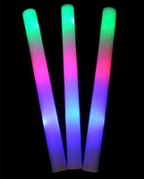 LED Colorful Rods LED Foam Stick Flash Foam Stick, Light Cheering Glow Foam Stick Vente en gros wen4299