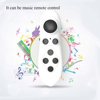 Wholesale Joystick Mouse Wireless - 100% Original Bluetooth Remote Controller VR Box Control Wireless Gamepad Mouse Game Console Joystick for iOS Android 0805031