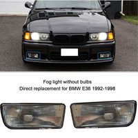 Wholesale Bmw E36 Oem - 2 FOR 92-98 HOUSING CASE BMW E36 3 SERIES 2 4D OEM REPLACEMENT FOG LIGHTS LAMPS