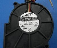 12v gebläse fans großhandel-ADDA 7530 AD7512UB 12V 0,52A 3Wire Lüfter, DC Lüfter