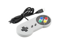4 tipos Super Game Controller SNES con cable Joypad clásico Joypad Joypad para PC Juegos MAC para Win98 / ME / 2000/2003 / XP / Vista