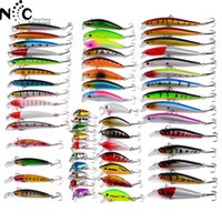 2017 New Arrival 56 Kinds Classical Lure Bait Set 374.48g Soft Hard Bait Mix Packge Alice Fish Striped Bass Tudo Comer DWS560