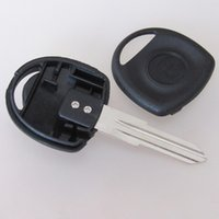Wholesale Cheap Transponder - Cheap Auto key blank case replacement key cover for Buick transponder key shell with right blade