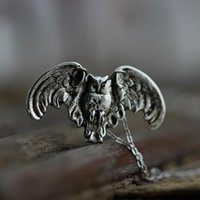 Wholesale Owl Legend - Legend of the Guardians Inspired necklace Winged Owl in Antiqued brave owl necklace Harry jewelry charm C118N