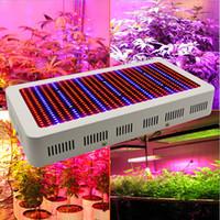 beyaz spektrum led ışıklar büyüyor toptan satış-Yüksek Kaliteli 600W Tam Spektrum LED Büyümek Işık Kırmızı / Mavi / Beyaz / UV / IR AC85 ~ 265V SMD5730 Led Bitki Lambaları 2 yıl garanti