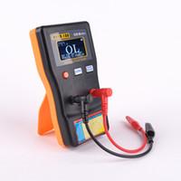 compteur de circuit achat en gros de-Freeshipping ESR Capacitance Ohm Meter Mesure professionnelle Capacitance Résistance Testeur de circuit