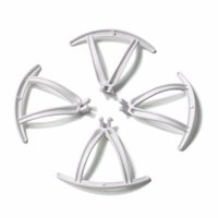 Wholesale Toy Propellers For Helicopter - F19660 61 4 pcs Lot Propeller Guard Protectors Frame for FQ777 951W FQ777 951C WIFI Mini Pocket FPV Drone Toy Helicopter