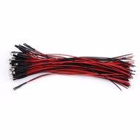 ingrosso diodo a 3 mm prefabbricato-Wholesale- 50pcs / set Risparmio energetico Pre Wired DC 12V 3mm Acqua Clear LED diodi Red Light