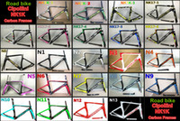 Wholesale 1k Cipollini - 3K 1K T1000 BB30 BB68 With 23 models Cipollini NK1K carbon road bike frames NK1K road bicycle carbon frames Free shipping