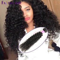 Wholesale Cheap Wholesale Remy Kinky Hair - Hot Selling!Fastyle Malaysian Kinky Deep Curly Extensions 4pc lot Unprocessed Mink Brazilian Peruvian Indian Virgin Human Hair Bundles Cheap