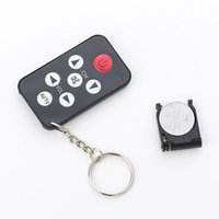 Wholesale Universal Remote Keychain - Wholesale- 2016 New Universal TV Set Remote Control Keychain Prank Tool