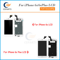 Wholesale Iphone Full Front Lcd - Top A+++ Quality For iphone 6s 6s plus LCD Display Full Assembly Touch Digitizer Screen Replacement Parts with Home Button + Front Camera