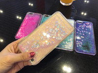 Wholesale iphone 5s snow white for sale - Group buy For Iphone S Plus SE S Snow Bling Liquid Hard Plastic PC Case Glitter Quicksand Sparkle Floating Clear Cover Skin Moving Powder