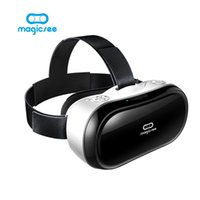 Wholesale M1 Quad Core - Wholesale- New Magicsee M1 3D Glasses All in one VR Android 5.1 Virtual Reality RK3288 Quad Core 5.5inch VR BOX Glasses 3D Game Movie