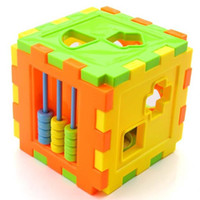 squared math - Colorful Baby Math Square Matching Blocks Children Sorting Box Educational Toys Early Childhood Learning Toy