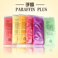 Wholesale Hands Paraffin Baths - Wholesale-1 Piece Fashion 450g Paraffin Wax Bath Nail Art Tool For Nail Hands Paraffin Nail Art Care Machine Paraffin Bath For Hands
