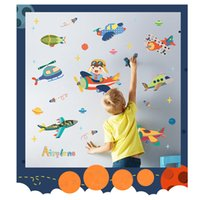 Wholesale Growth Up Chart - 134cm X105cm Kids Growth Chart Height Measure Wall Sticker Good Quality Paster for DIY Kid's Room - Happy Soar Up into the Sky with One Star