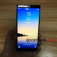 Hot Selling Goophone Note8 Telefonnote 8 MTK6580 64bit Quad Core Dual SIM 3G Nicht 4g lte 1GB RAM 8GB / 16GB ROM Android 6.0 Smartphone