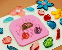 Wholesale Wholesalers Quilling Paper - Quilter Grid Guide for Paper Folding Crafting Paper Handmade Craft DIY Paper Quilling Tool