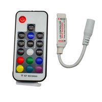 DC5V-24V 12A 17 touches mini RF sans fil RGB Controller Mini RF sans fil LED Remote Controller pour RGB 5050/3528 LED Lights Strips