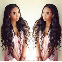 Brazilian hair best body waves for hair - 9A Best Lace Front Human Hair Wigs Glueless Full Lace Wigs Brazillian Virgin Human Hair Body Wave Wavy Wigs For Black Women