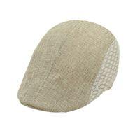 Wholesale Newsboy Beret Cap Free Shipping - Wholesale-Amazing Casual Fashion Summer Men Beret Cap Hat Newsboy Caps Sun Ourtdoor 5 Colors Free Shipping