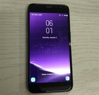 Wholesale Cheap Cell Phones 4g - cheap Goophone S8 5.0 inch unlocked phone mini S8 edge smartphone quad core 512MB ram 4G rom Show 4g lte cell phones