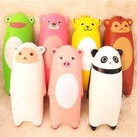 Wholesale Wholesale Sheep Toys - 7PCS 15CM Jumbo Squishy Ikiru&friends Hand Pillow Cartoon Panda Tiger Monkey Sheep Bread Fun Toy free shipping