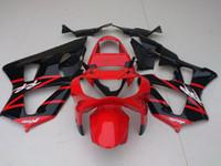 Wholesale Cbr929rr Fairing Kit - New ABS Injection motorcycle fairing kits for HONDA CBR900RR 929 2000 2001 CBR900 929RR CBR929 00 01 CBR929RR bodywork set red black glossy