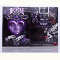 Wholesale Decks Bicycles - Deck Bicycle Anne Stokes II Fantasy Art Playing Cards 88*63mm Magic Category Poker Cards