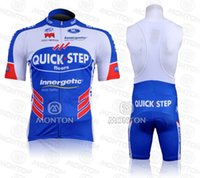 kit de cyclisme rapide achat en gros de-2011 QUICK STEP Cycling Jersey Short Sleeve Shorts Kits Vêtements Cycle Bicycle Team Ropa Ciclismo bicicletas maillot ciclismo Vêtements de sport