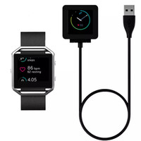 Wholesale Rate Data - 2017 Fitbit Blaze Smart Bracelet Heart Rate Charging Line Anti Interference USB Transmission Data Cable Charger Dock