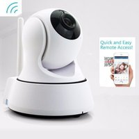 Wholesale Analog Cctv - HD Home Security Wireless Mini IP Camera Control Monitor Surveillance Camera Wifi 720P Night Vision CCTV Camera Baby Monitor With Retail Box
